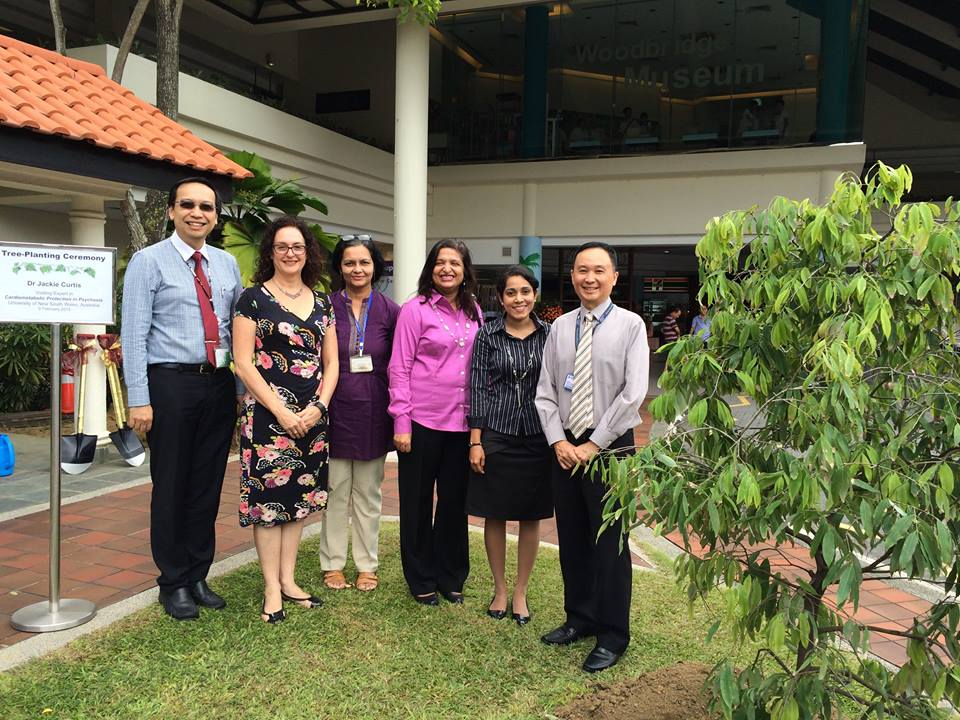 Singapore welcomes Jackie Curtis IMH
