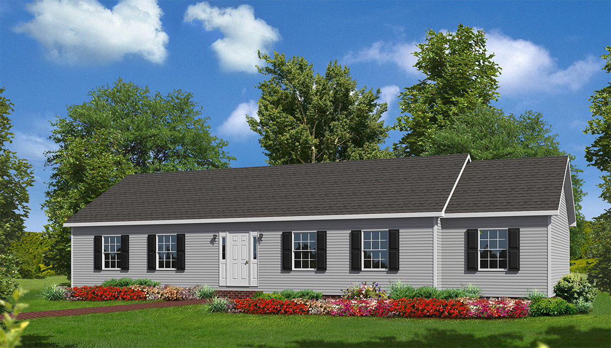 1200 Sq Ft Home or 20 Exterior Panes