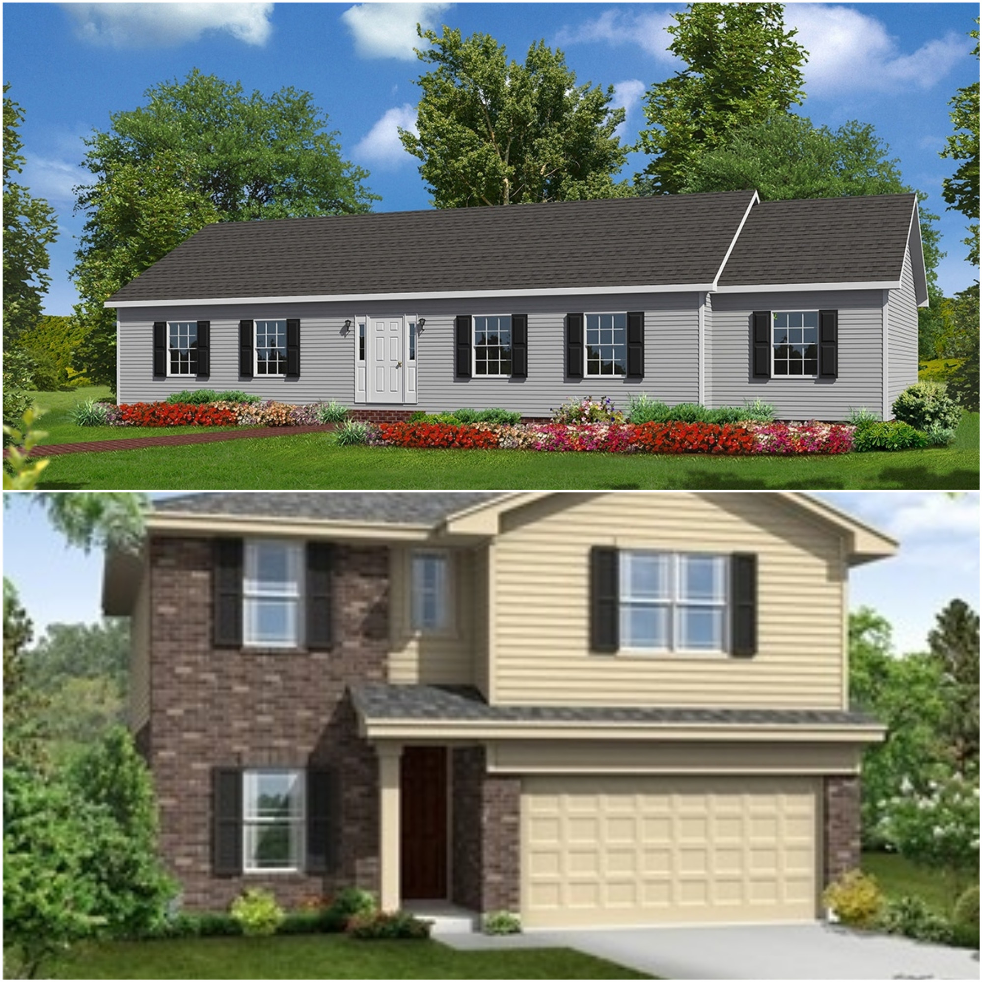 1800 Sq Ft Home or 30 Exterior Panes