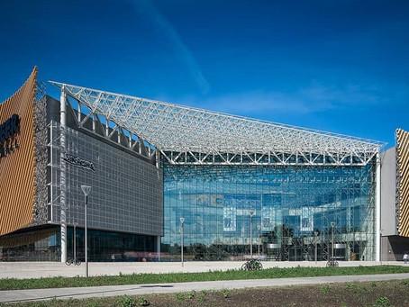 Опыт применения алюминия при строительства ТРЦ «Веер Молл» в Екатеринбурге