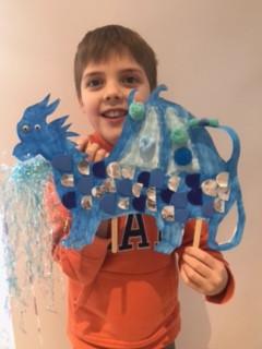 Ollie's Puppet Dragon (3B)