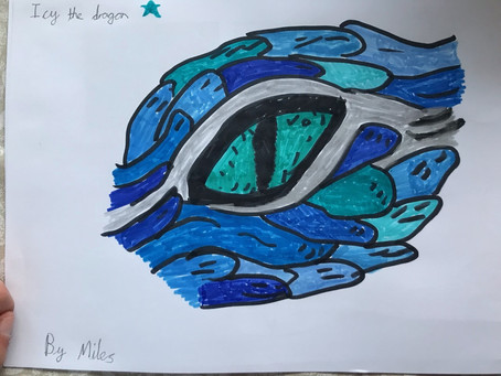 A Dragon's Eye Created By Miles (3B)