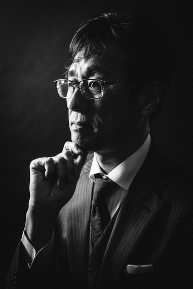 男性プロフィール写真撮影