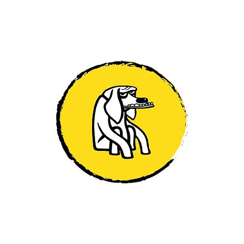 Mad Dog Bumper Sticker