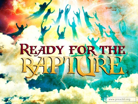 Are you ready for the Rapture?!