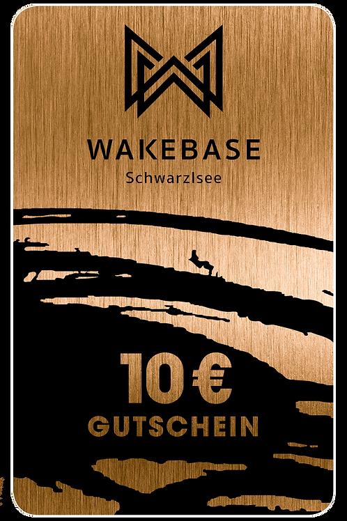 Wakebase Gutschein € 10,-