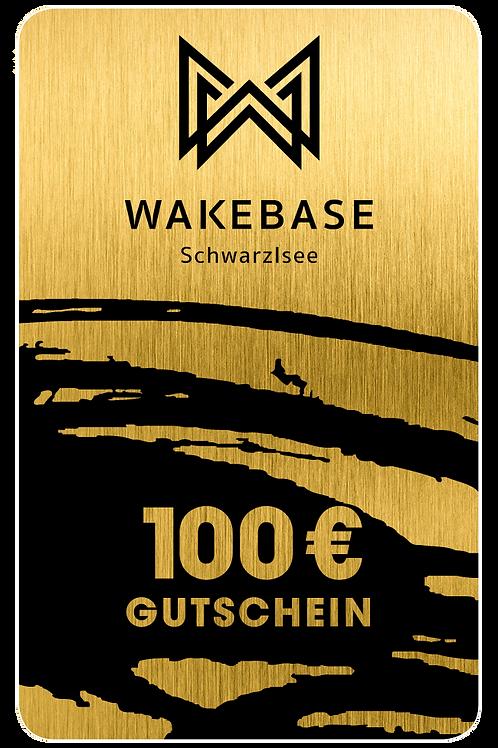 Wakebase Wertgutschein € 100,-