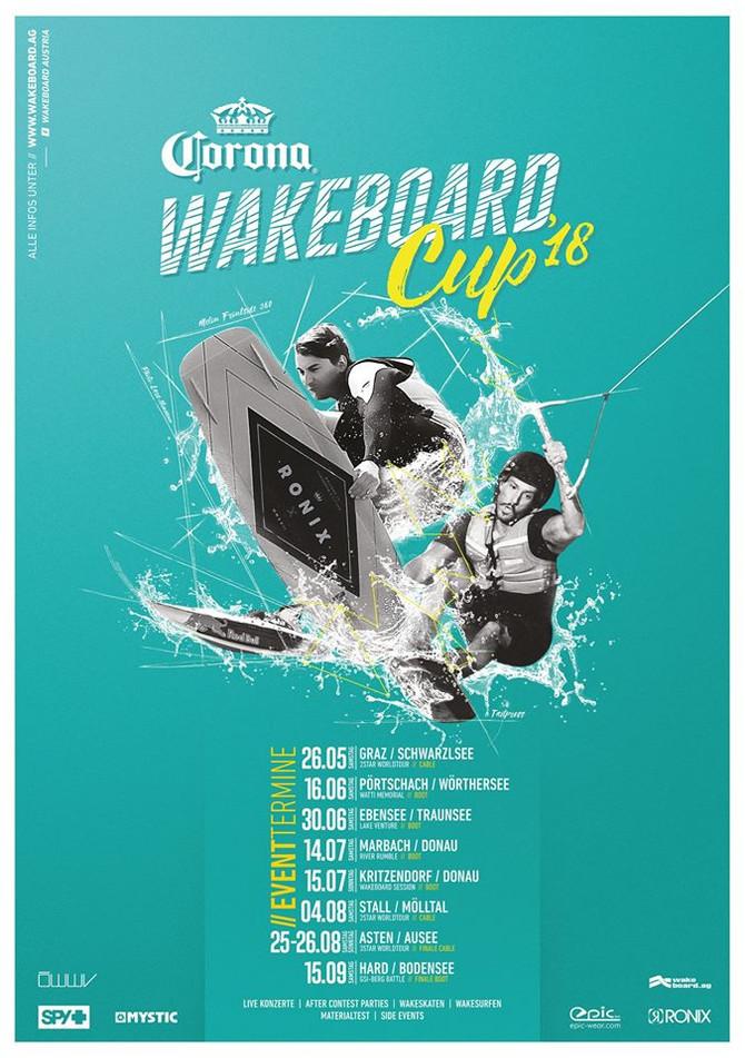 Der Corona Wakeboard Cup 2018 steht in den Startlöchern!