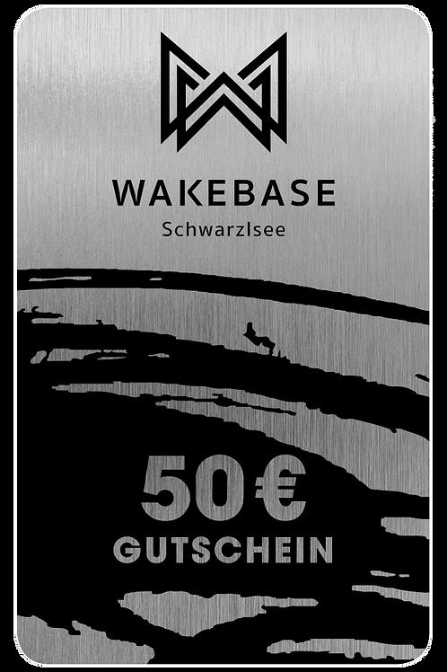 Wakebase Wertgutschein € 50,-