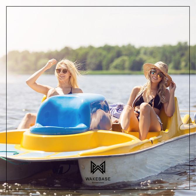 Raus aus dem Alltag - rein ins Boot!