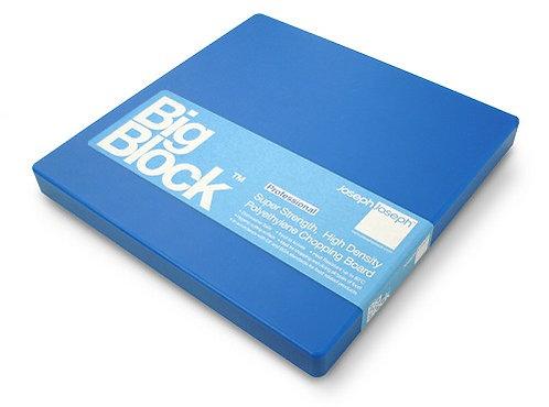 Big Block snijplank blauw; 30 x 30 x 2 cm