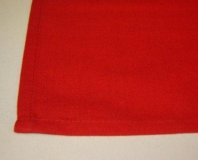 Tafelloper 'Asa' rood; 50 x 150 cm