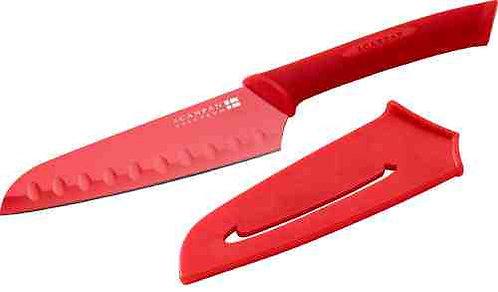 Japans koksmes rood (incl. hoes); lemmet: 14 cm
