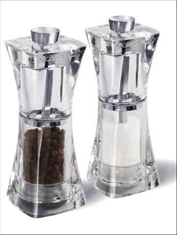 Peper- en zoutmolen 'Cole & Mason' (Crystal)