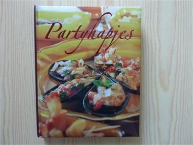 Kookboek: 'Partyhapjes' (showroommodel!)