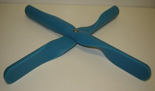 Pannenonderzetter 'Menu' (siliconen; inklapbaar); turquoise