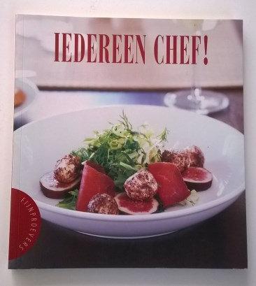 Kookboek: 'Fijnproevers Iedereen chef!' (showroommodel)