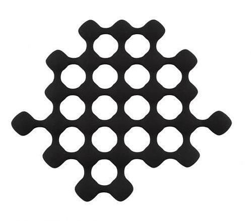 Pannenonderzetter 'Zone' (hittebestendig); zwart