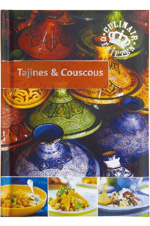 Kookboek/paperback: 'Tajines & Couscous'; 64 pagina's