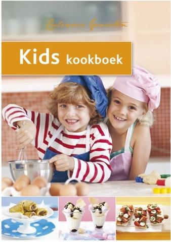 Kookboek/paperback: 'Kids kookboek'; 64 pagina's