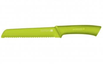 Broodmes groen (incl. hoes); lemmet: 18 cm