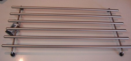Pannenonderzetter 'BK'; 48 x 25 cm