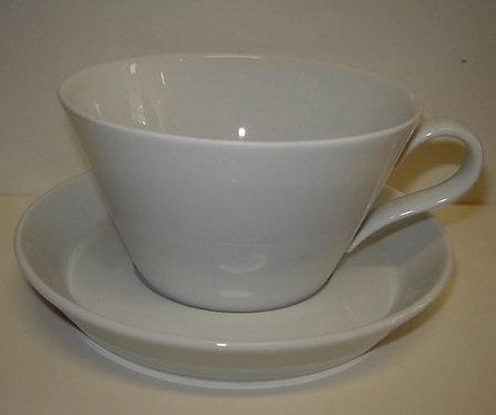 Tric B-keus: soep-/cappuccinokop en schotel
