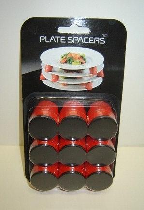Plate spacers