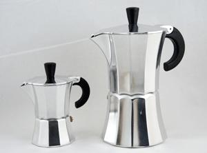 Espressopot 6 kops (aluminium)