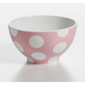 Polkadot roze: schaal 15 cm