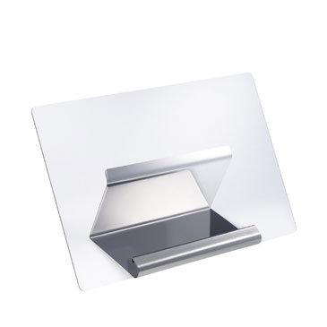 Kookboekstandaard Gefu (rvs/acryl); anti-spat