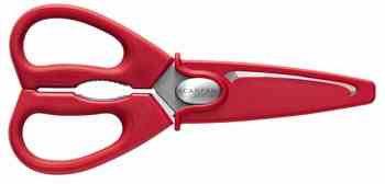 Schaar rood (Scanpan); incl. hoes