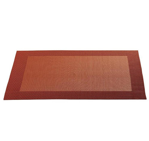 Placemat 'Asa' rood; 46 x 33 cm