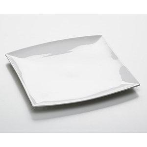 East meets west: bord/schaal vierkant; 30 cm