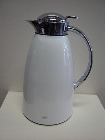 Alfi thermoskan 'Gusto' wit; 1 liter