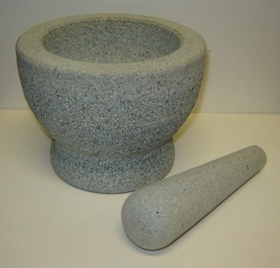 Vijzel (graniet); 14 cm