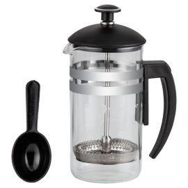 Cafetiere 'Havana' (3-cups); zwart