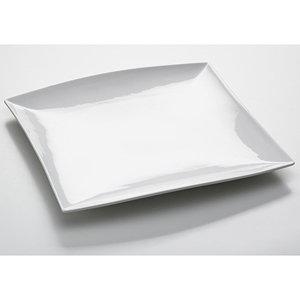 East meets west: bord/schaal vierkant; 40 cm