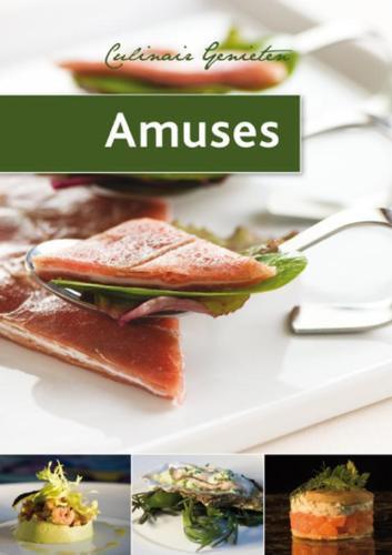 Kookboek/paperback: 'Amuses'; 64 pagina's
