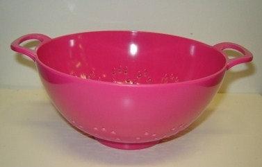Vergiet 15 cm; roze (kunststof)