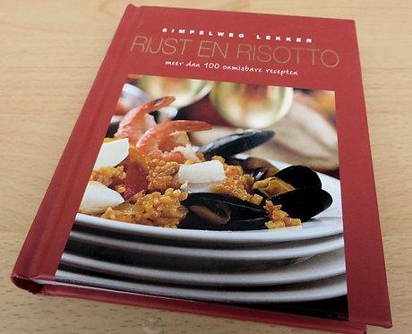 Kookboek: 'Simpelweg lekker Rijst en Risotto'