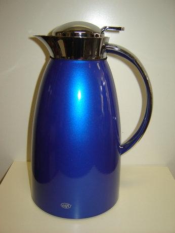 Alfi thermoskan 'Gusto' blauw; 1 liter