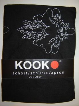 Schort 'Kook'; ornament