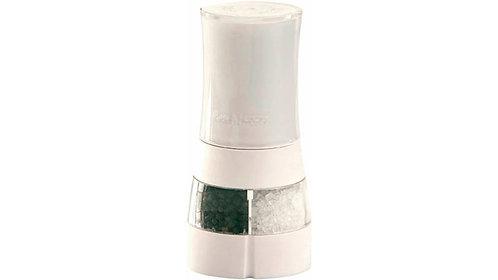 Peper- en zoutmolen 'Cole & Mason' (2 in 1); wit