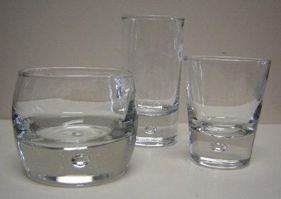 Amuseglas (rechts op foto); model: konisch