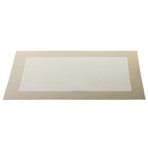 Placemat 'Asa' beige; 46 x 33 cm