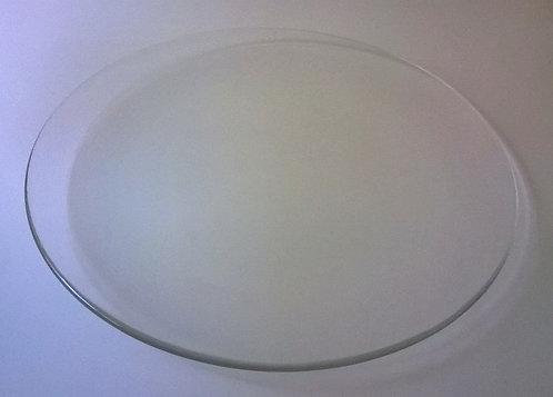 Serveerschaal (glas); 37 cm