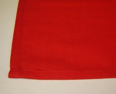 Servet 'Asa' rood; 50 x 50 cm