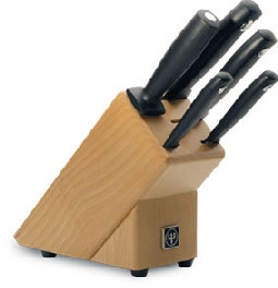 Aanbiedings-/voordeelset nr. 9829: messenblok met 5 onderdelen