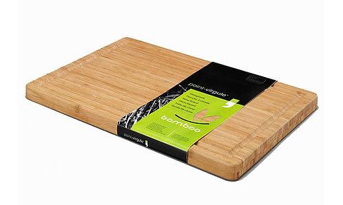 Bamboe vlees-/snijplank; 51 x 35;5 x 3 cm